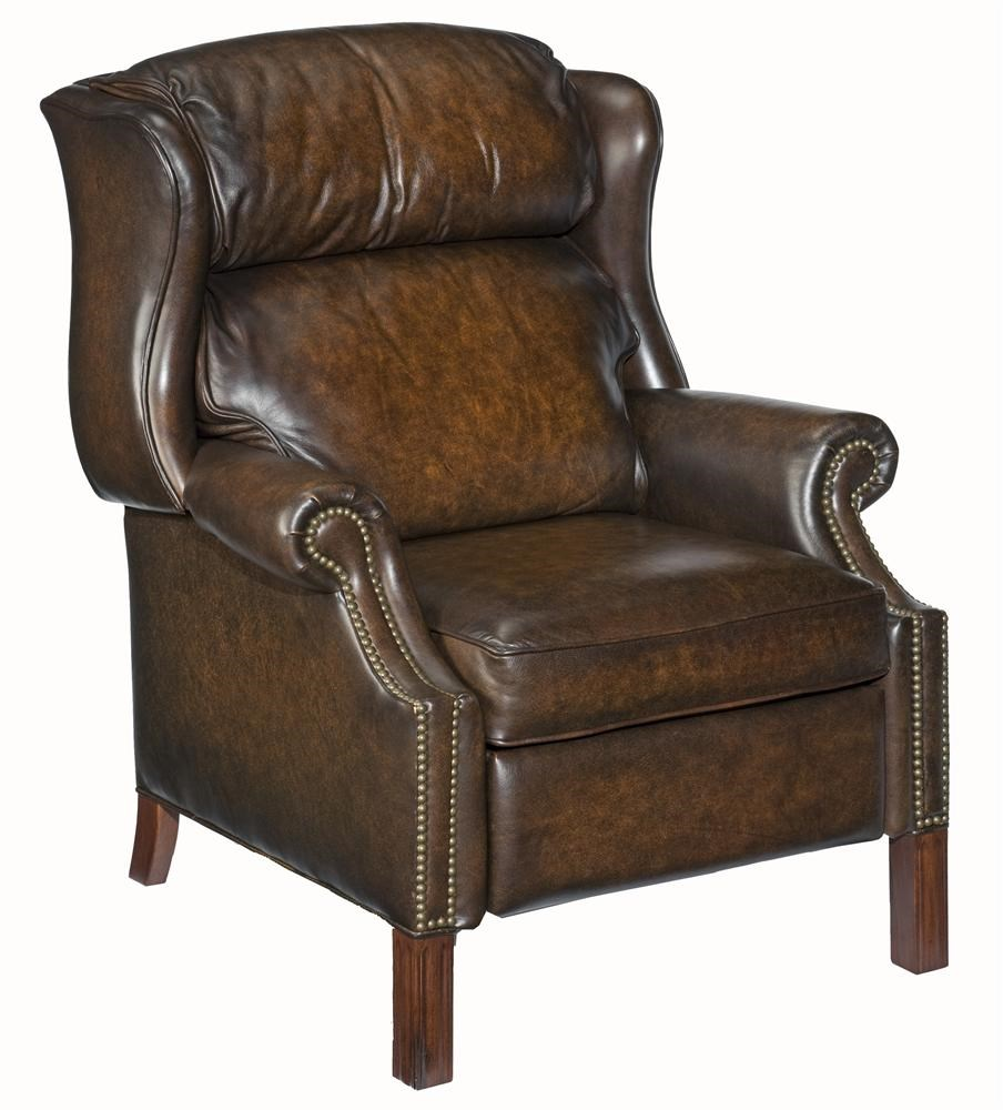 furniture reclining chairs high leg wing recliner