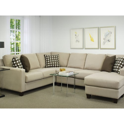 Brentwood Classics Finley 2 Piece Sectional With Chaise