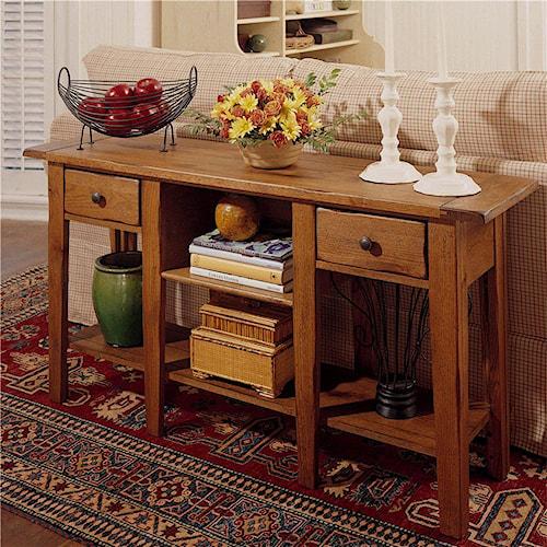 Broyhill Furniture Attic Heirlooms 3397 09SV Sofa Table