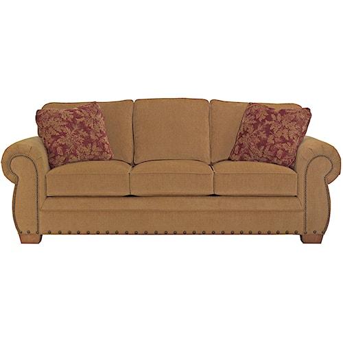 Broyhill Furniture Cambridge 5054 3 Casual Style Sofa Baer 39 S Furniture Sofa Miami Ft
