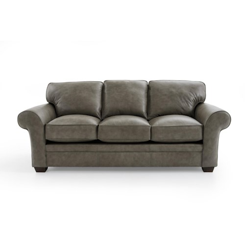 Broyhill Furniture Zachary L7902 3 0016 95 Upholstered Sofa Baer 39 S Furniture Sofas Boca
