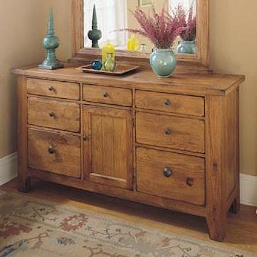 Broyhill furniture attic heirlooms door dresser becker for Furniture for attics