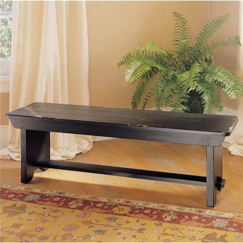 Broyhill furniture attic heirlooms bench hudson 39 s for Furniture for attics