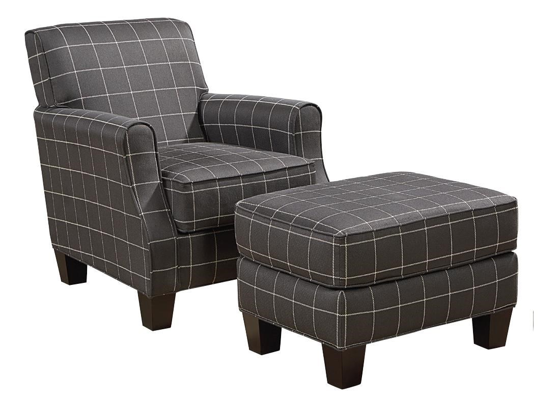 Broyhill Furniture Mazie Chair and Ottoman Set : Baeru0026#39;s Furniture : Chair u0026 Ottoman Boca Raton ...