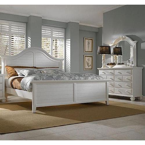 Broyhill Furniture Mirren Harbor 5 Piece Queen Bedroom Collection Baer 39 S Furniture Bedroom
