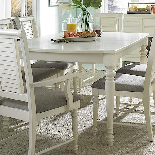 Broyhill Furniture Seabrooke 4471-532 Leg Dining Table