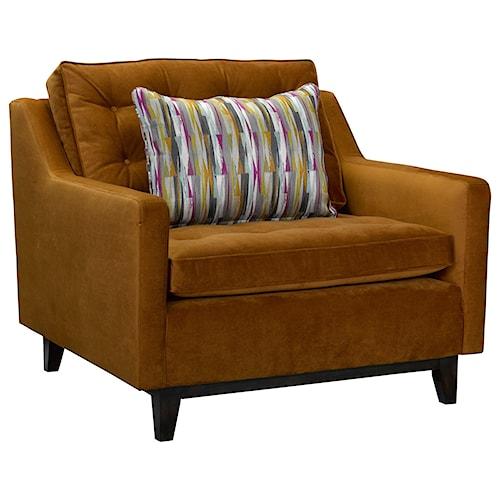 Broyhill furniture tula 4289 0 chair 1 2 baer 39 s for Mid century modern furniture orlando