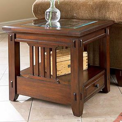 Broyhill Furniture Vantana Rectangular End Table Becker Furniture World End Table Twin