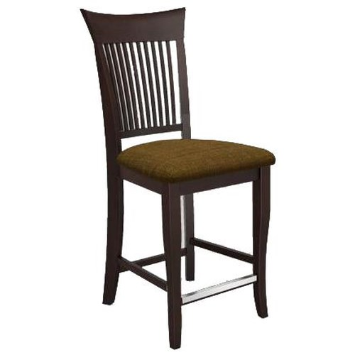 Canadel Bar Stools Customizable 24 Quot Upholstered Fixed