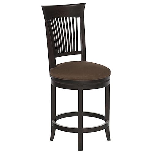 Canadel bar stools customizable 24 upholstered swivel stool broyhill of denver bar stool - Barstools denver ...