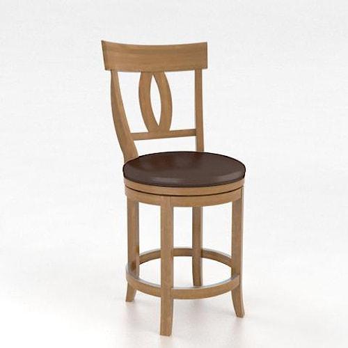 Canadel bar stools honey washed bar stool dunk bright - Bright colored bar stools ...