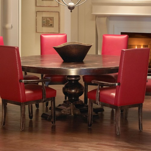 Custom Dining Room Furniture: Custom Dining Customizable Round