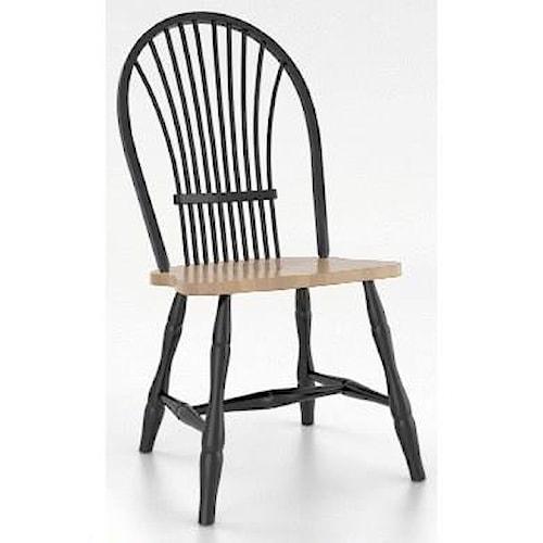 canadel custom dining customizable windsor side chair