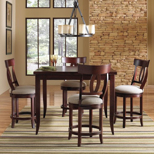 custom dining high dining customizable counter height table set