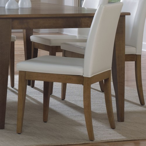 Custom Upholstered Side Chair: Canadel Custom Dining Customizable Side Chair With