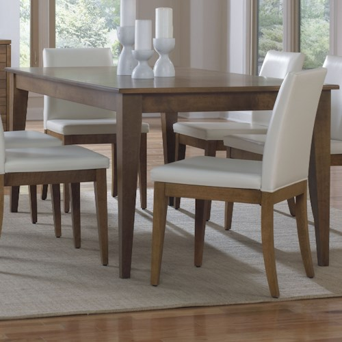 Custom Dining Room Furniture: Canadel Custom Dining Customizable Rectangular Dining