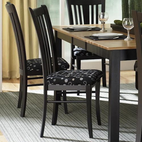 Luxury Color Custom Dining Room Furniture Canadel Custom Dining Contemporary Customizable Upholstered Side Chair Wa