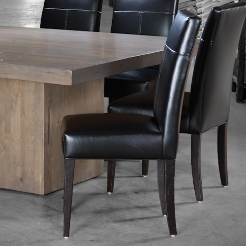 dining room furniture dining side chair canadel loft custom dining
