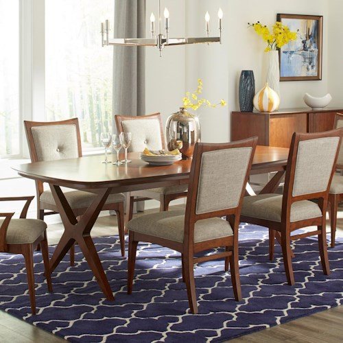 dining table with extension leaf pilgrim furniture city dining