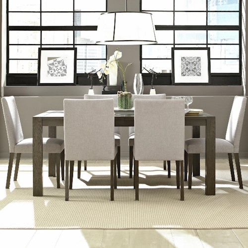 Casana montreal table and chair set stoney creek for Dining room tables montreal