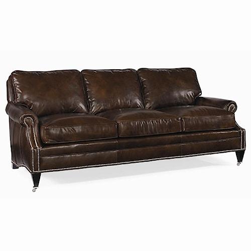 Century Century Leather Customizable Essex Sofa