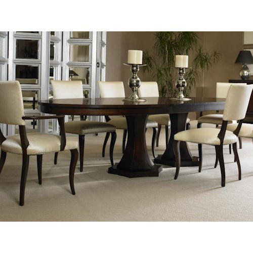 Century Tribeca Table And Chair Set Baer 39 S Furniture Dining 7 Or Mor