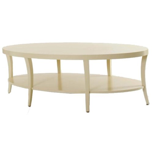 Century Tribeca Cocktail Table With Bottom Shelf Design Interiors Cocktail Coffee Tables