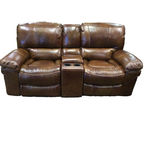 Cheers Sofa X9335m Casual Power Reclining Loveseat With Storage Console Miskelly Furniture