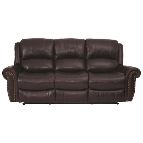 Cheers Sofa Uxw9888m Power Reclining Sofa With Nailhead Darvin Furniture Reclining Sofa