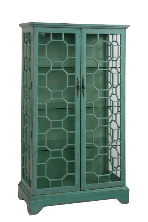 Coast to Coast Imports Coast to Coast Accents Two Door Curio Cabinet - Furniture and ...