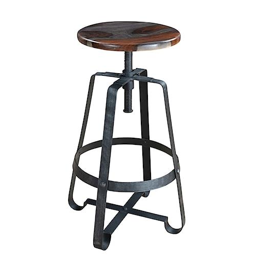 Coast To Coast Imports Grayson Adjustable Barstool Value City Furniture Bar Stools