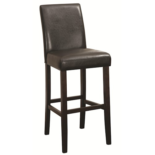 Coaster Accent Seating Bar Height Parson Stool Value City Furniture Bar Stools