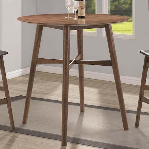 Coaster Bar Units And Bar Tables 101435 Bar Table Del Sol Furniture Pub Tables Phoenix