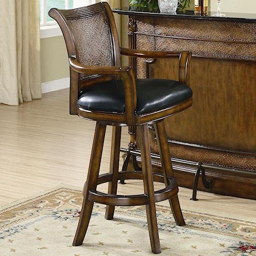 Coaster Clarendon 100174 Bar Stool Del Sol Furniture