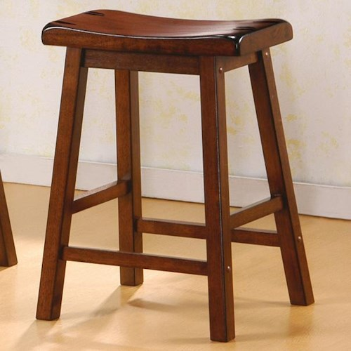 Coaster Dining Chairs And Bar Stools 24 Quot Wooden Bar Stool