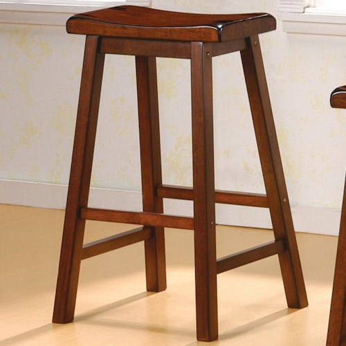 Coaster Dining Chairs And Bar Stools 29 Quot Wooden Bar Stool