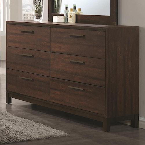 Coaster edmonton 204353 dresser del sol furniture for Bedroom furniture edmonton