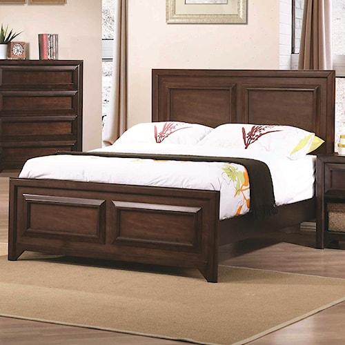 Coaster Greenough Full Bed Beck 39 S Furniture Headboard Footboard Sacramento Rancho Cordova