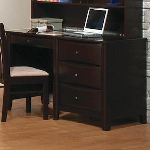 Coaster Phoenix 400187 Desk Del Sol Furniture Single
