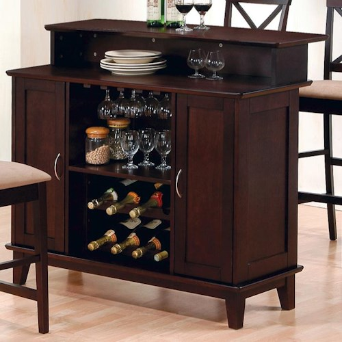 Coaster mix match 100218 bar northeast factory direct for Dining room sets with matching bar stools