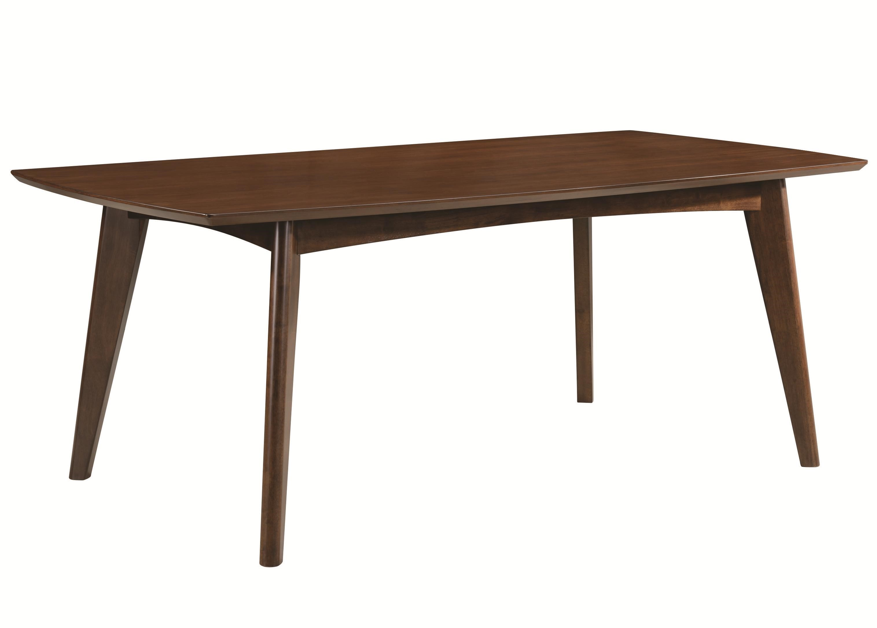 Coaster Malone Mid Century Modern Casual Dining Table