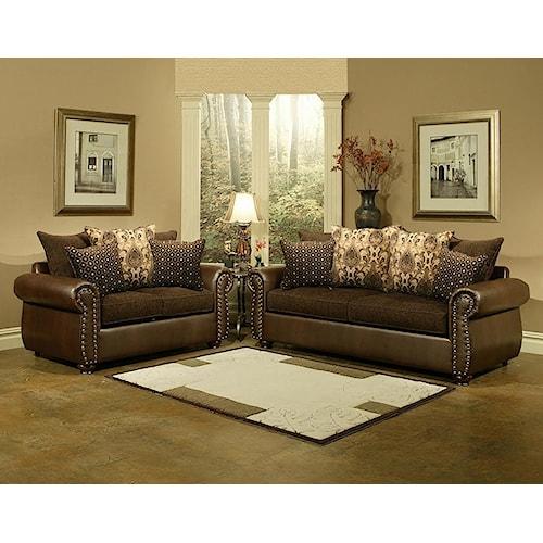 Comfort Industries Austin AUS101 Living Room Set Del Sol Furniture Uphols