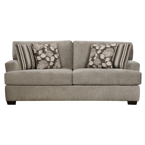 Corinthian 29a0 Sofa With Two Seat Cushions Standard