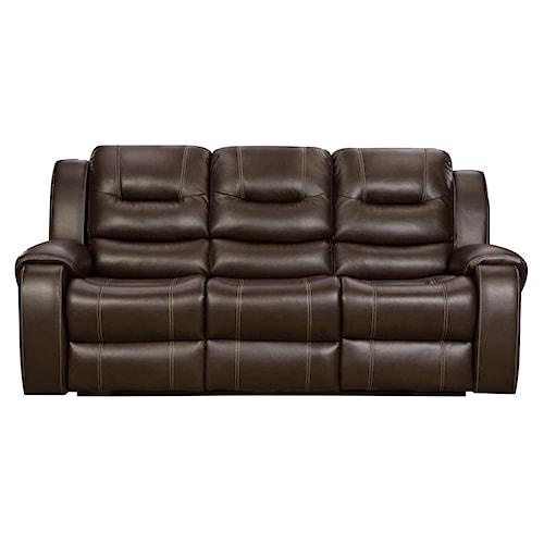 Full Reclining Sofa Images Modern Microfiber