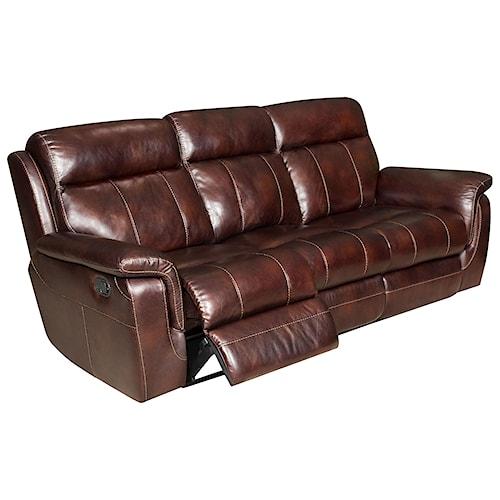 Corinthian 862 Casual Styled Reclining Sofa J J