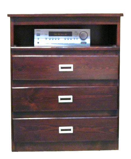 Coronado Merlot I Media Chest Ivan Smith Furniture