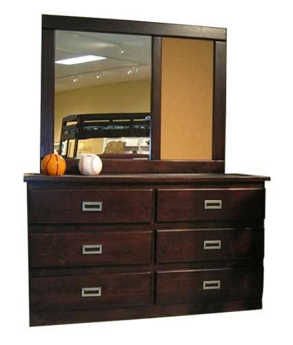 Coronado Merlot I Dresser Mirror Ivan Smith Furniture