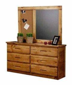 Coronado Ponderosa I Dresser and Mirror - Ivan Smith Furniture - Dresser u0026 Mirror