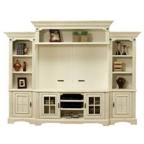 Coronado Seattle 4pc Wall Unit W Backpanel Ivan Smith Furniture Wall Unit