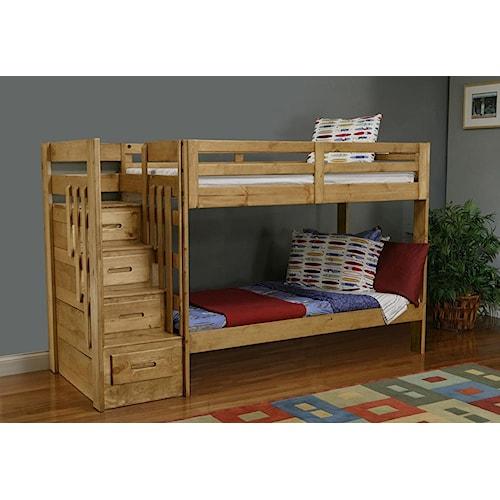 Coronado ponderosa bunk bed ivan smith furniture bunk bed for Ivan smith furniture